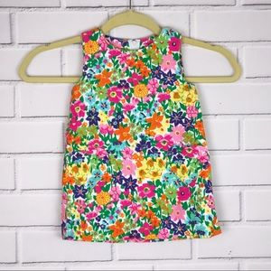 Vintage Lilly Pulitzer Sz 2T Floral Dress Heart